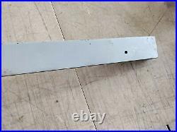 Vintage Walker Turner Table Saw Micro-adjust Fence Fits 27 Table Top