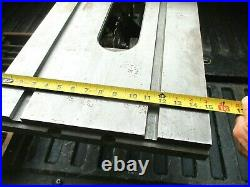 Walker Turner'The Driver Line' 8 Table Saw Rip Fence With Front Guide Bar