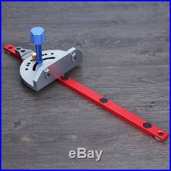 Wood Working Tool For Bandsaw Table Saw Router Angle Miter Gauge Guide Fence