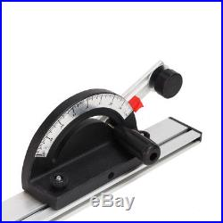 Woodworking Table Saw BandSaw Router Angle Miter Gauge Mitre Guide Fence Cut NEW
